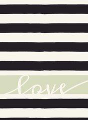 Love - French Garden Flash Card