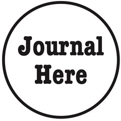 Journal Here Stamp