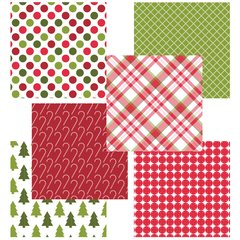 Christmas 6x6 Fun Sheets
