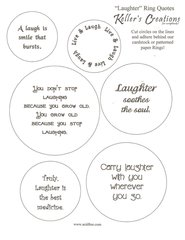 Laughter Ring Quotes