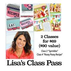 Lisa's Class Pass - St. Louis