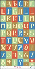 Alphabet Sheet - Family Frenzy