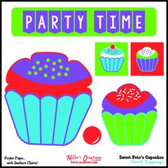 Toppings Card/Cupcakes - Sweet Pete's Candy