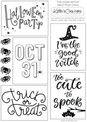 Vellum Flash Cards-The Good Witch