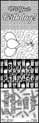 Bulk Pack-Flash Cards- Birthday - Color It Fast!