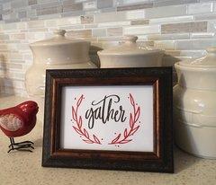 Gather Word Art