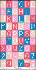 Alphabet Sheet - Alisha's Beach House