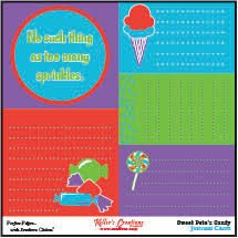 Journal Cards - Sweet Pete's Candy