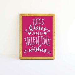 Valentine Wishes Word Art