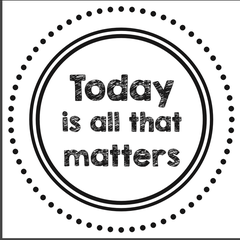 "Today...all that Matters - 2"" Stamp"