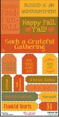 Tags & Titles - FabTastic Fall