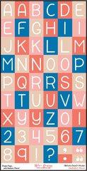 Bulk Pack-Alphabet Sheet-Alisha's Beach House
