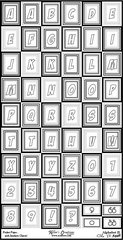 Alphabet Sheet #2 - Color It Fast!