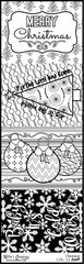 Bulk Pack-Flash Cards- Christmas - Color It Fast!
