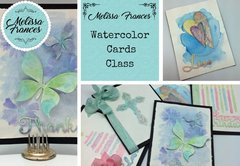 *Class #3 Lancaster- Watercolor Cards, Saturday 11:30 am