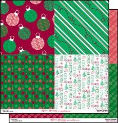 12x12 Print Paper-Christmas Merriment