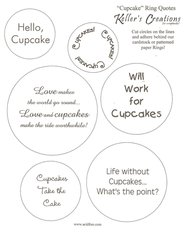 Cupcake Ring Quotes