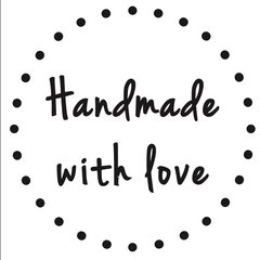 Handmade With Love Stamp