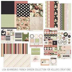 *Lisa Bearnson's French Garden Collection for Keller's Creations