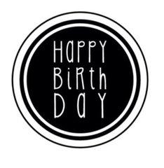 Happy Birthday - Stamp It Fast