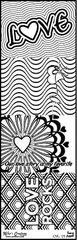 Bulk Pack-Flash Cards- Love- Color It Fast!
