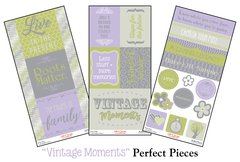 """Vintage Moments"" Perfect Pieces"