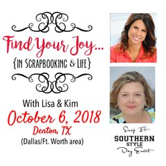 Find Your Joy...DALLAS Day Event - October 6, 2018
