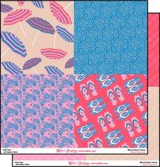 12x12 Print Paper - Alisha's Beach House