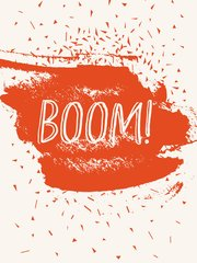 Boom - Cherries Jubilee Flash Card