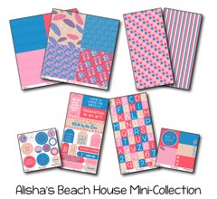 Alisha's Beach House Mini Collection Assortment Pack