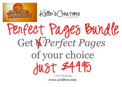 March Madness-Perfect Pages-Bundle of 6 + Bonus!