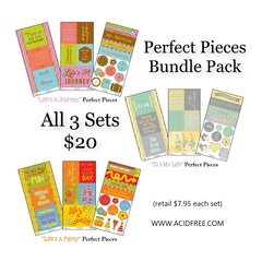 "Perfect Pieces Bundle-""Life"""