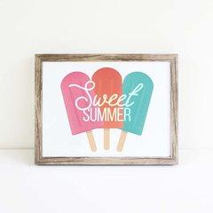 Sweet Summer Word Art