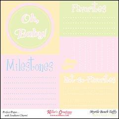 Milestones/Baby Girl- Clearance-Myrtle Beach Taffy