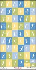 Bulk Pack-Alphabet Sheet-Meredith's Garden