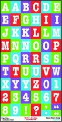 Alphabet Sheet - Sweet Pete's Candy