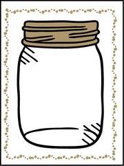 Mason Jar - Southern Sparkle Flash Card