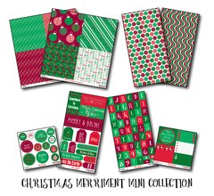 Christmas Merriment Mini Collection Assortment Pack