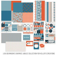 Lisa Bearnson's Cherries Jubilee Collection for Keller's Creations