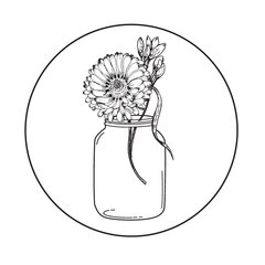 Stamp of the Week-April 23-Mason Jar-Wishes
