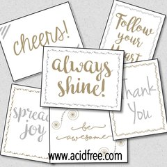 Southern Sparkle Flash Cards - Word Assortment Pack