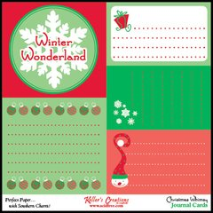 Journal Cards - Christmas Whimsy