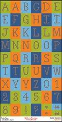 Bulk Pack-Alphabet Sheet-Little Bucaroo
