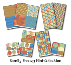 Family Frenzy Mini Collection Assortment Pack