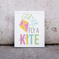 Kite Word Art