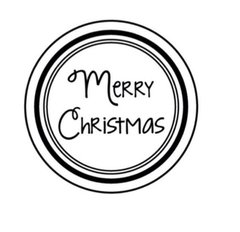 Merry Christmas- Stamp It Fast