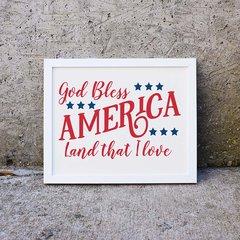America Word Art