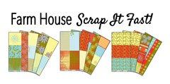 Farm House Scrap It Fast Kit