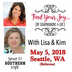 Find Your Joy...SEATTLE Day Event - May 5, 2018
