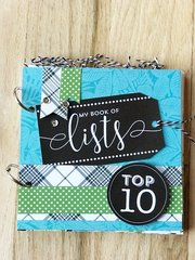 *Class #6 Thomasville - My Book of Lists, Saturday 4:30 pm